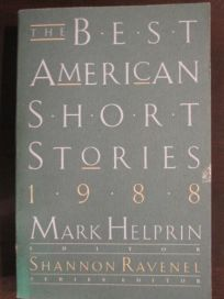 The Best American Short Stories 1988