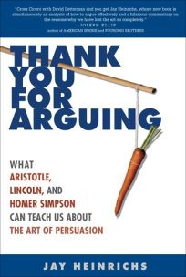 Thank You for Arguing: What Aristotle