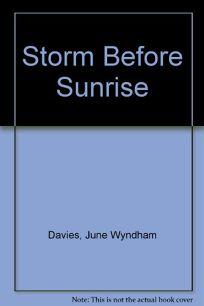 Storm Before Sunrise