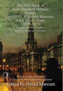The MX Book of New Sherlock Holmes Stories, Part XVIII