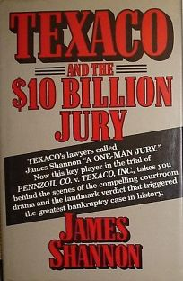 Texaco and the  Billion Jury