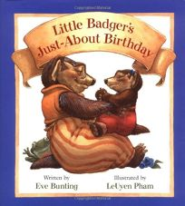 Little Badgers Just-About Birthday