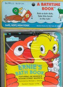 Ernies Bath Book [With Foam Duck]