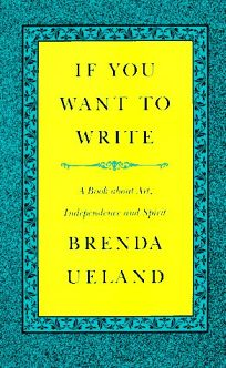 If You Want to Write: A Book about Art