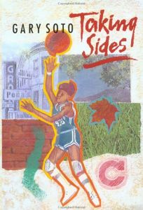 Children's Book Review: Taking Sides by Gary Soto, Author Harcourt ...
