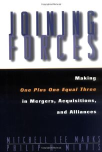 Joining Forces: Making One Plus One Equal Three in Mergers