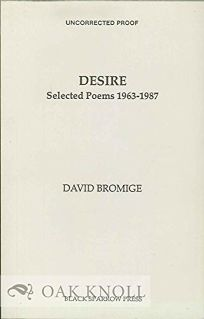 Desire: Selected Poems