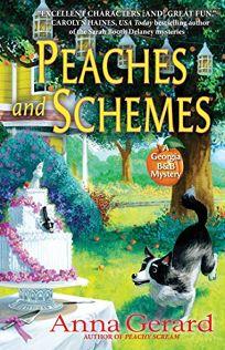 Peaches and Schemes: A Georgia B&B Mystery