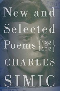 New and Selected Poems 1962–2012