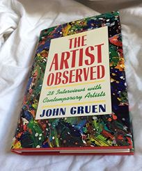 The Artist Observed: 28 Interviews with Contemporary Artists