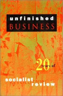 Unfinished Business: Twenty Years of Socialist Review