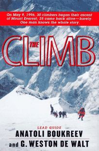 Book about climbing mount everest
