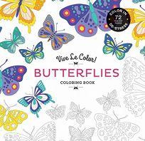 Vive Le Color! Butterflies: Color In; de-Stress 72 Tear-Out Pages