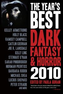 The Years Best Dark Fantasy and Horror