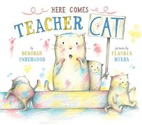 Here Comes Teacher Cat