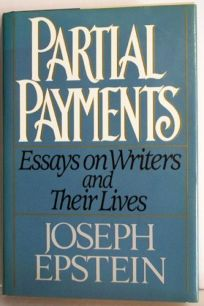 Partial Payments: Essays Arising from the Pleasures of Reading
