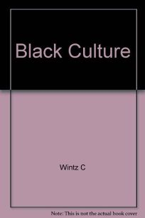 Black Culture and the Harlem Renaissance