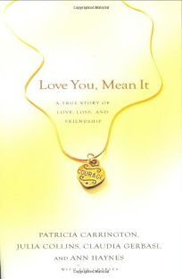 Image result for love you, mean it book
