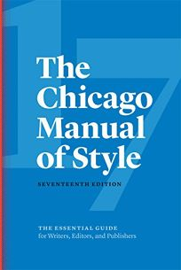 The Chicago Manual of Style: 17th Edition