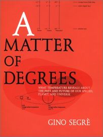 A MATTER OF DEGREES: What Temperature Reveals About the Past and Future of Our Species