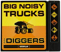 Big Noisy Trucks and Diggers [With Batteries Included and 5 Sound Buttons]