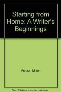 Starting from Home: 2a Writers Beginnings