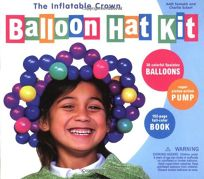 The Inflatable Crown Balloon Hat Kit [With Balloons
