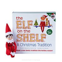 The Elf on the Shelf: A Christmas Tradition [With Book] Light Skin Boy