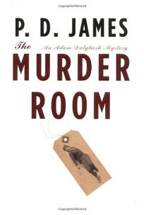 THE MURDER ROOM: An Adam Dalgliesh Mystery