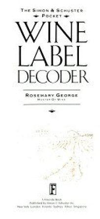 Simon and Schuster Pocket Wine Label Decoder