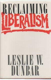 Reclaiming Liberalism