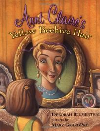 AUNT CLAIRES YELLOW BEEHIVE HAIR