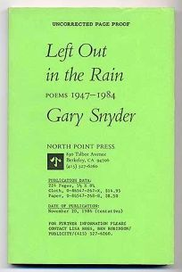 Left Out in the Rain: New Poems