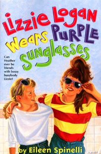 Lizzie Logan Wears Purple Sunglasses