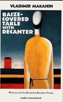 Baize-Covered Table with Decanter