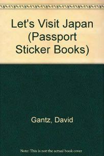 Lets Visit Japan-Sticker Book