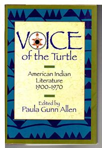 Voice of the Turtle I: American Indian Literature
