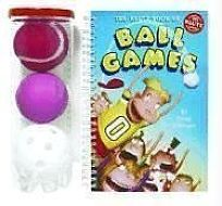 The Klutz Book of Ball Games [With Tennis Ball