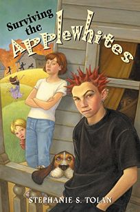 Childrens book review surviving the applewhites by stephanie s surviving the applewhites fandeluxe Choice Image