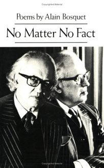No Matter No Fact: Poems