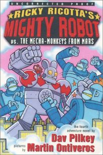 Ricky Ricottas Mighty Robot vs. the Mecha-Monkeys from Mars