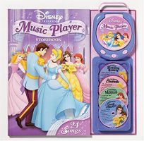 Disney Princess Music Player Storybook [With Music Player and CD Audio]