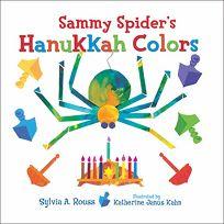 Sammy Spiders Hanukkah Colors