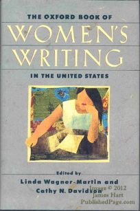 The Oxford Book of Womens Writing in the United States
