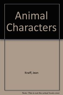 Animal Characters: An Alphabet