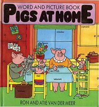 Pigs at Home: A Picture Word Book