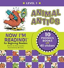 Animal Antics [With Stickers]