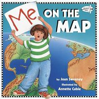 Me On The Map Book Children's Book Review: Me on the Map by Joan Sweeney, Author  Me On The Map Book