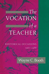 The Vocation of a Teacher: Rhetorical Occasions