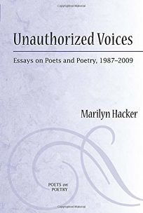Unauthorized Voices: Essays on Poets and Poetry